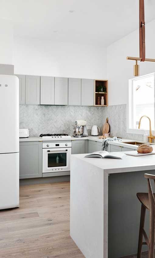 Cocinas blancas un cl sico que nunca pasa de moda foto 1 - Fotografias de cocinas ...