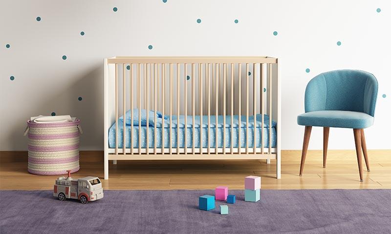 Muebles que no pueden faltar en una casa con bebé