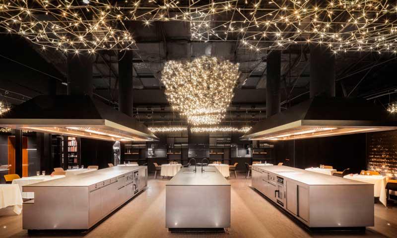 Restaurantes con una apetecible puesta en escena