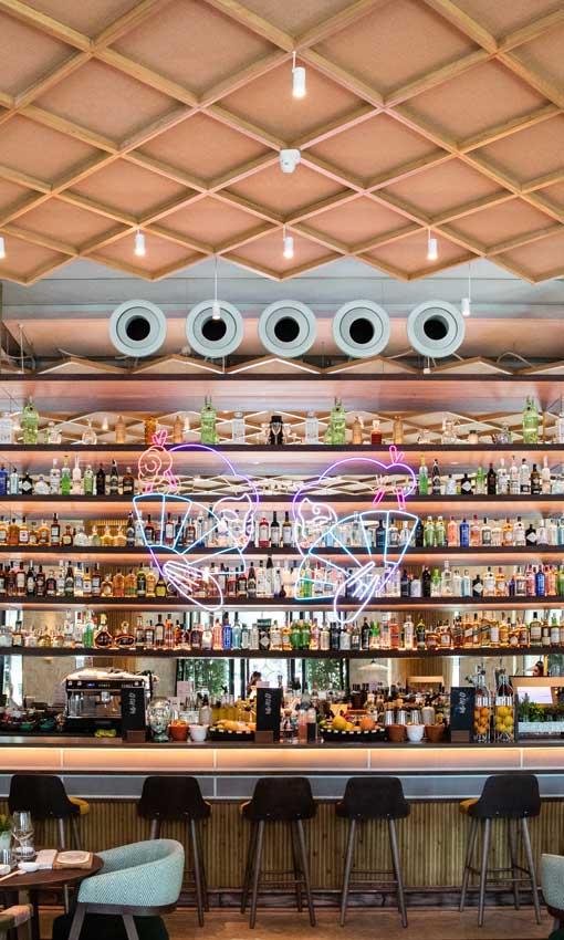 Seis restaurantes con un dise o a la altura de su cocina foto - Restaurante umo barcelona ...