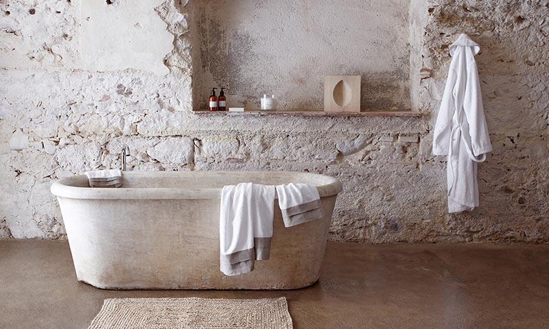Cómo conseguir un baño de estilo rústico - Foto