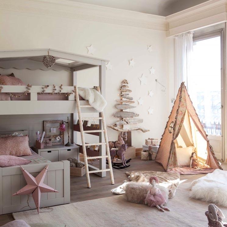 Dormitorios infantiles que ayudan a conseguir un buen - Dormitorios infantiles blancos ...