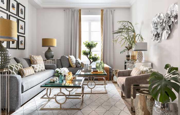 As se actualiza el estilo cl sico for Casa clasica moderna interiores