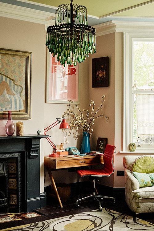 Convierte Tu Espacio De Trabajo En Casa En Un Acogedor Rincon Vintage