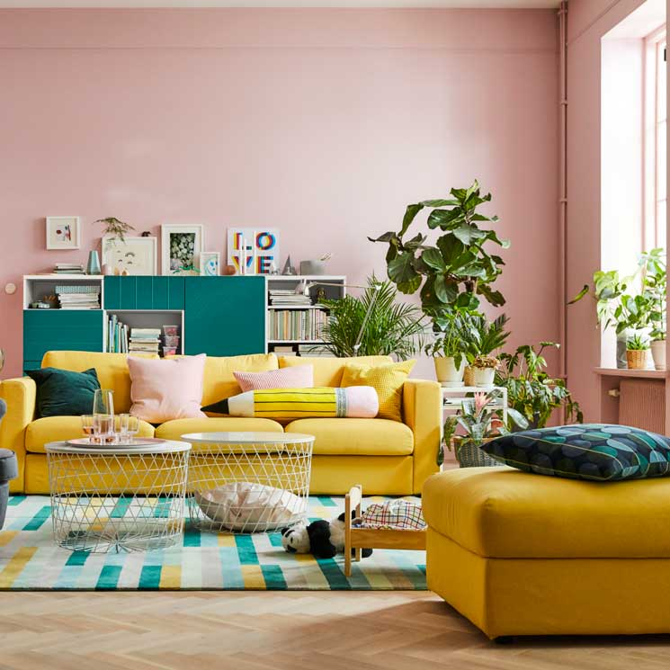Estas son las 12 tendencias de decoraci n que reinar n en - Salones estilo colonial moderno ...