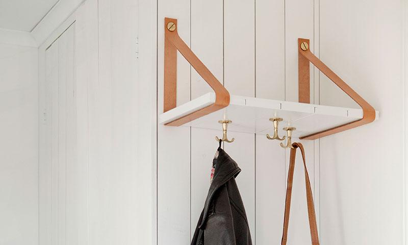 DIY: Un original perchero para cualquier rincón de tu casa
