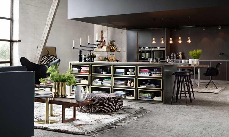 Claves para diseñar una cocina abierta al resto de la casa - Foto