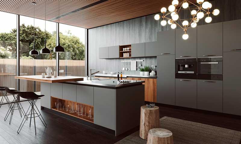 Claves para dise ar una cocina abierta al resto de la casa for Cocinas abiertas con isla