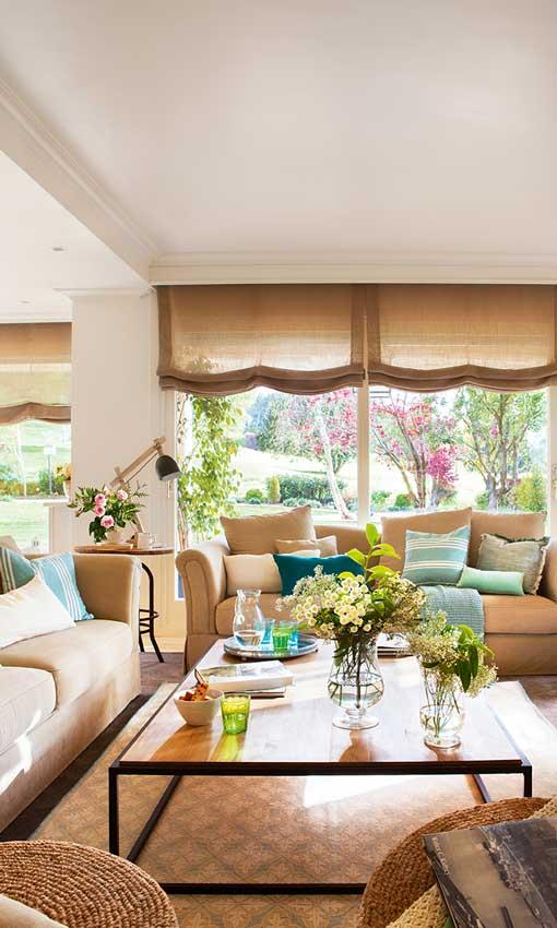 Decoración de interiores: Cómo dar un nuevo aire a tu casa de campo ...