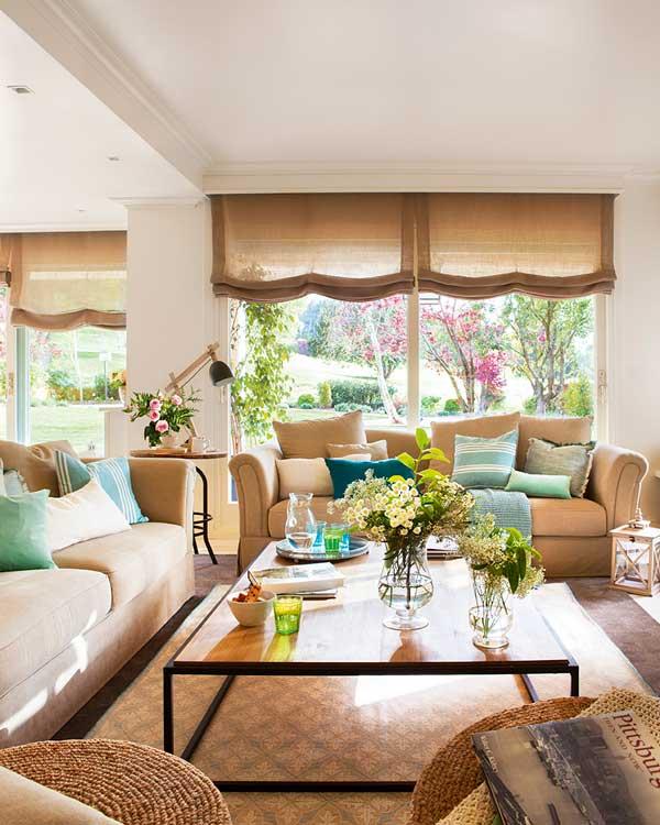 Decoraci n de interiores c mo dar un nuevo aire a tu casa - Decoracion casas de campo ...