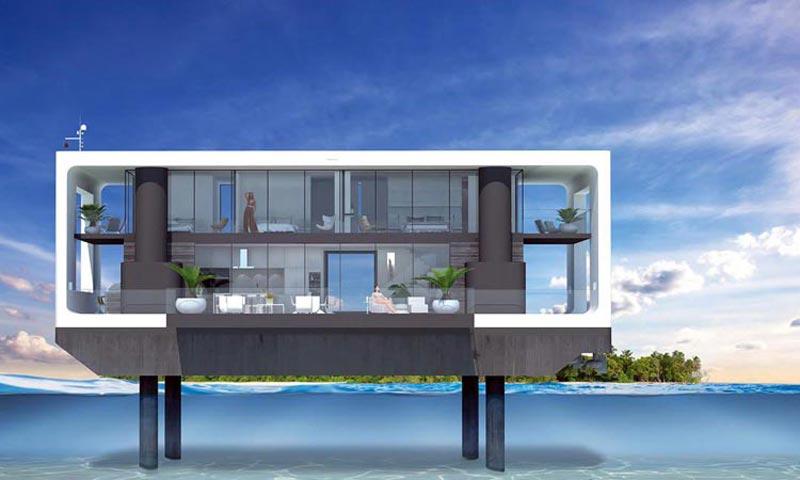 El primer 'yate-vivienda' del mundo ya es una realidad, ¿quieres verlo?