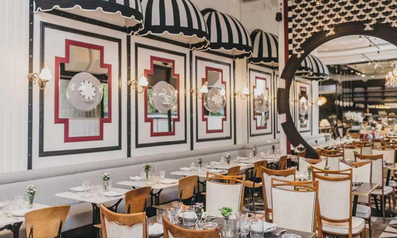 ¿Te gusta comer en un buen ambiente? Toma nota de estos nueve restaurantes muy 'deco'