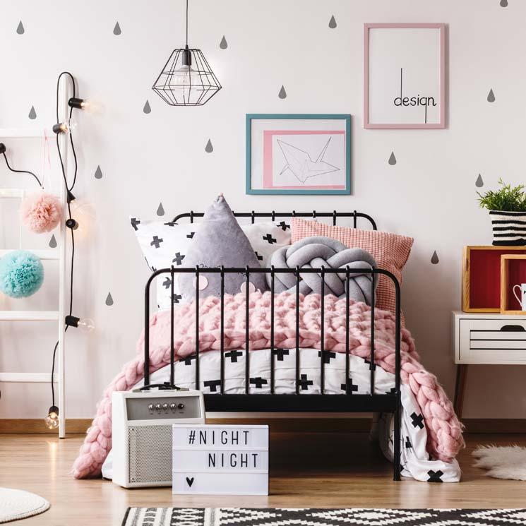 Decoración de dormitorios: Habitaciones infantiles con aire vintage ...