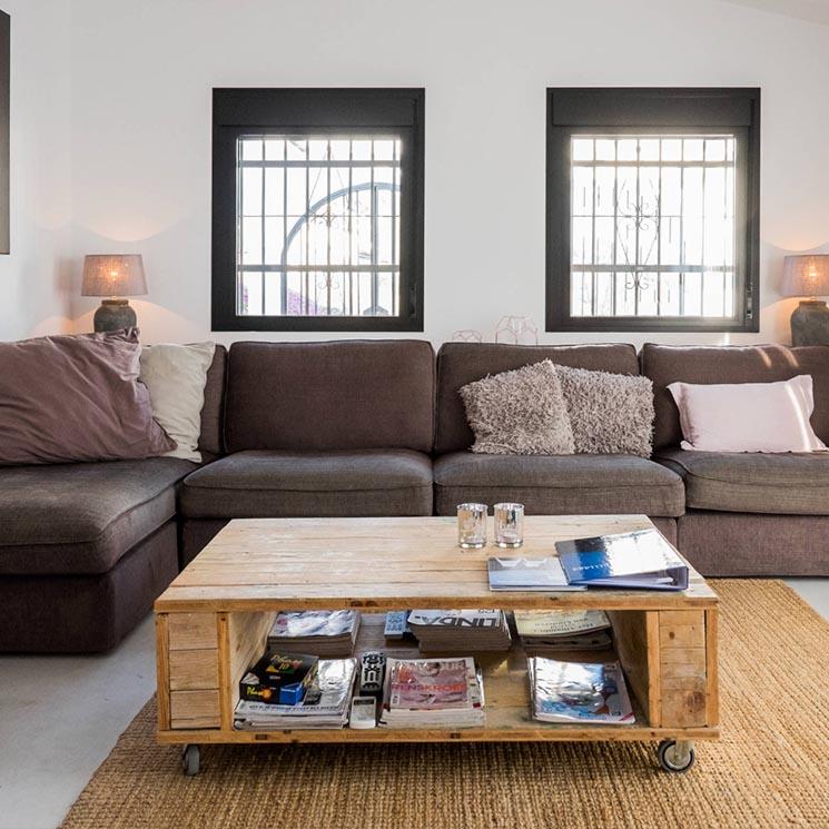 Mesas de centro una pieza clave con muchas caras foto - Mesas plegables para salon ...