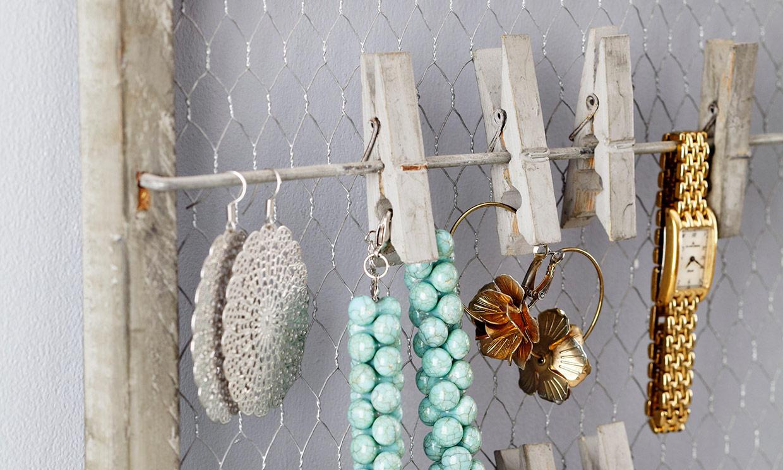 Ideas originales para organizar tus joyas