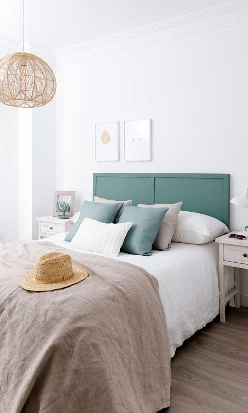 ideas de decoración de dormitorios paredes de color verde claro Decoracin Dormitorios 10 Colores De Tendencia Para Pintar