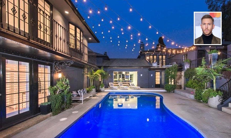 ¿Quieres ver la mansión que Calvin Harris vende en Los Ángeles?