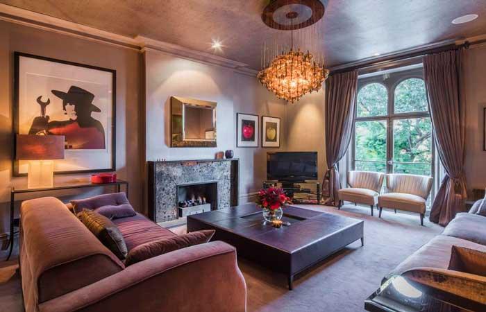 Noel Gallagher vende su casa londinense. ¿Quieres ver cómo vive una estrella del rock?