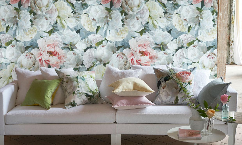 Los estampados florales convertirán tu casa en un jardín interior
