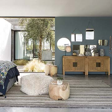 Decoraci n de interiores y exteriores decora tu casa hola for Casa paulina muebles y decoracion