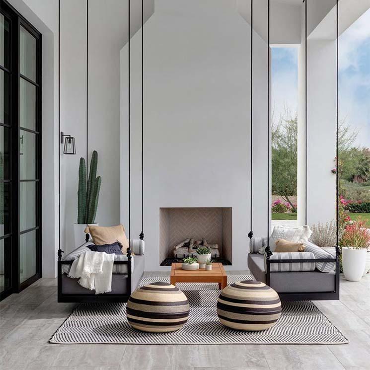 muebles de jard n elige entre columpio o balanc n para tu On muebles de jardin trenza equilibrio