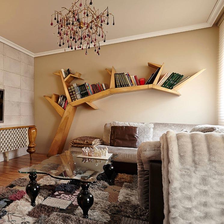 Decoración De Salones Utiliza Las Librerías Para Decorar Tu