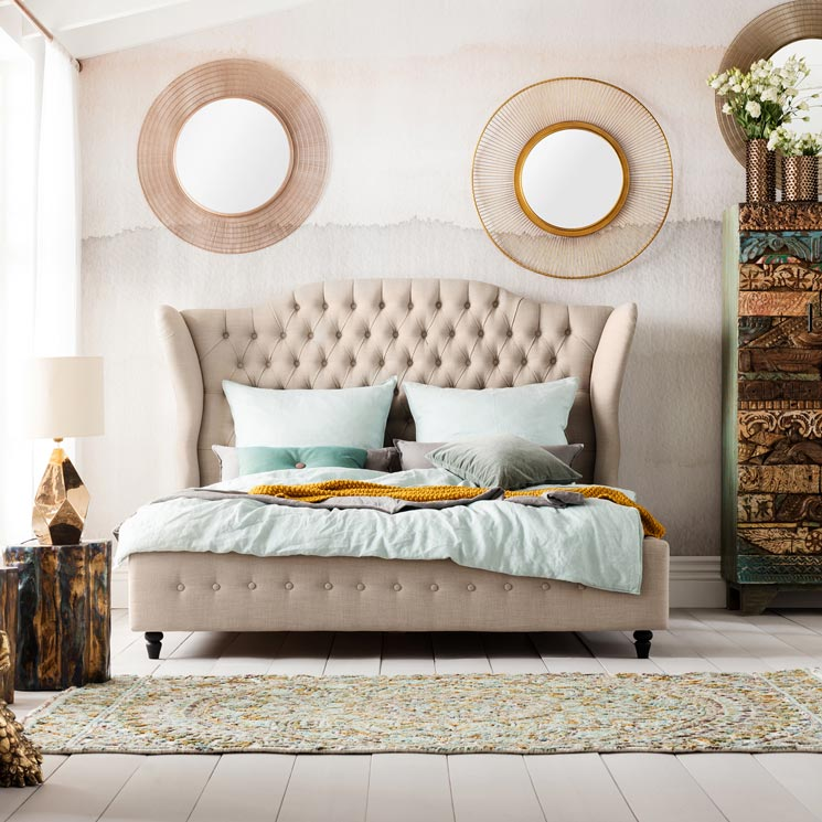 Dormitorios Matrimonio Cabeceros Para Tu Cama Llenos De Estilo Y Personalidad Foto 1