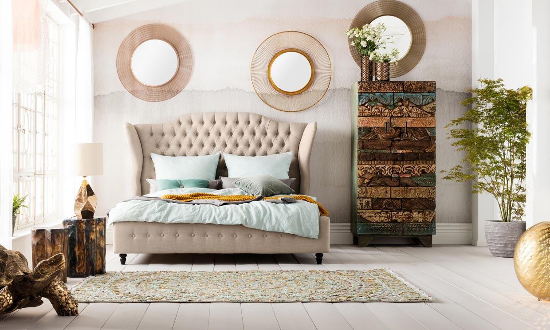 Cabeceros originales para dar carácter y estilo al dormitorio de matrimonio