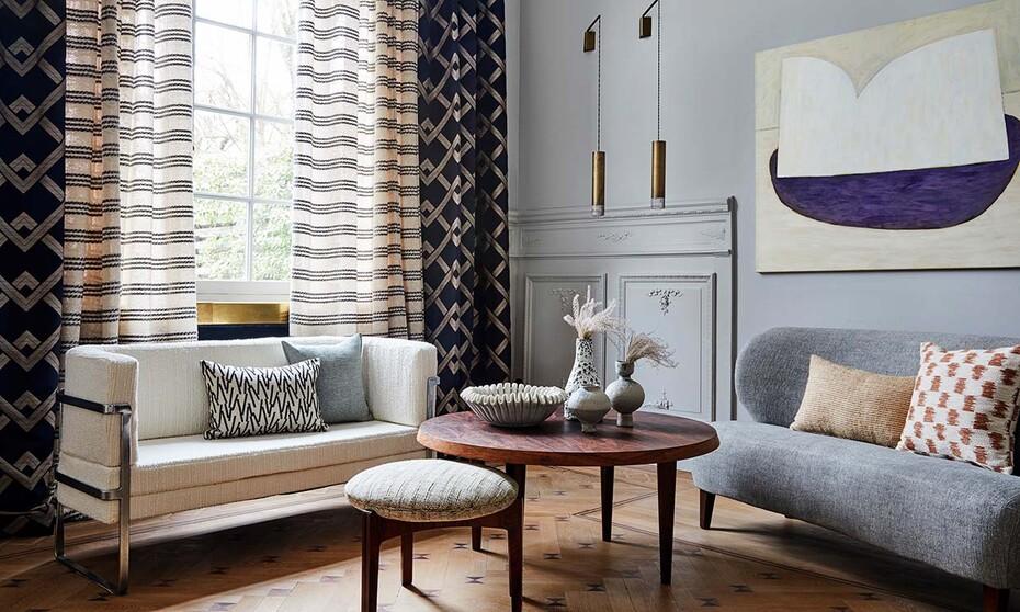 Muebles de salón: La mejor tela para tapizar el sofá