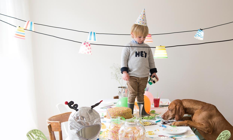 Cómo organizar (y decorar) una fiesta infantil en casa y que todo salga bien