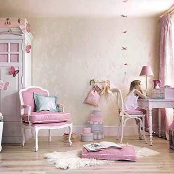 Decora La Habitación Infantil Con Papel Pintado Foto 1