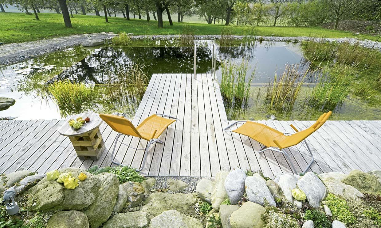 ¿Sabes qué es una piscina natural o ecológica? Ventajas de un baño cristalino