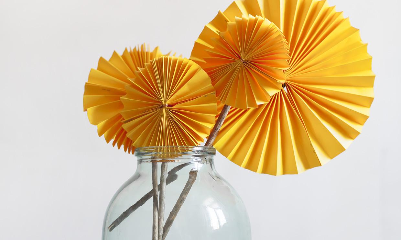 Manualidades Flores De Papel Para Decorar Paso A Paso