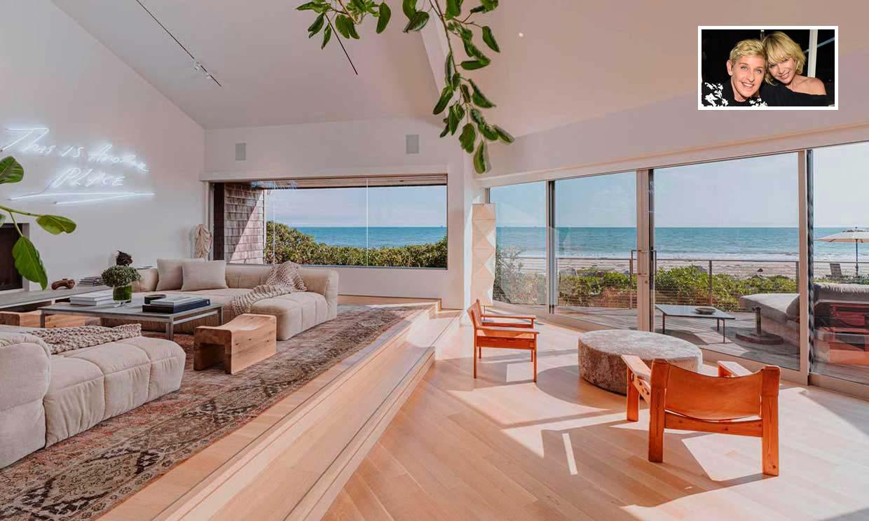 ¿Quieres conocer el refugio de la playa de Ellen DeGeneres y Portia de Rossi?