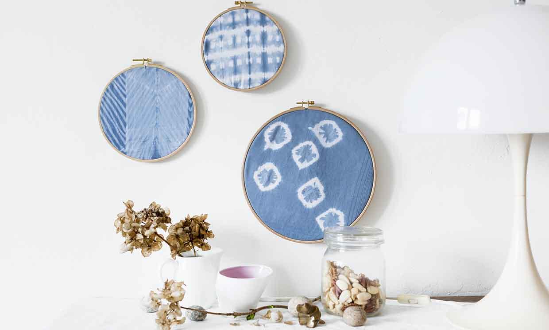 Detalles 'tie-dye' para tu hogar