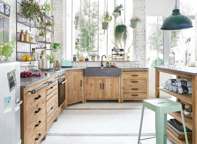 Cocinas Con Muebles En Madera Más Allá Del Clásico Foto 1