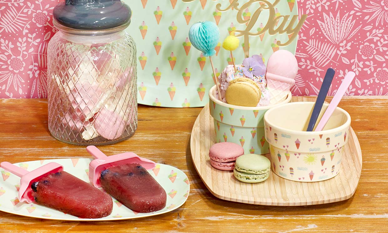 Date un capricho helado y disfruta presentándolo en la mesa con originalidad