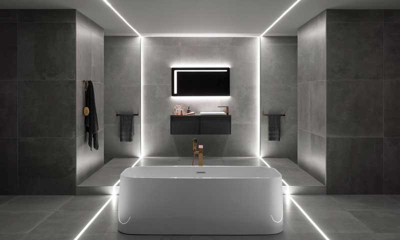Decoración baños: Claves para iluminar el cuarto de baño ...