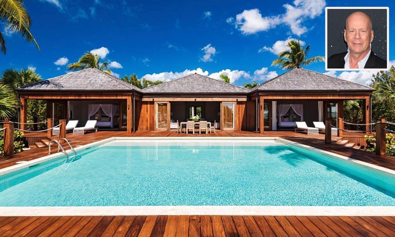 ¿Quieres ver la mansión en el Caribe que Bruce Willis acaba de poner a la venta?