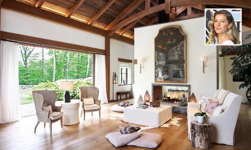 Gisele Bündchen vende su mansión, ¿quieres ver cómo vive una supermodelo?