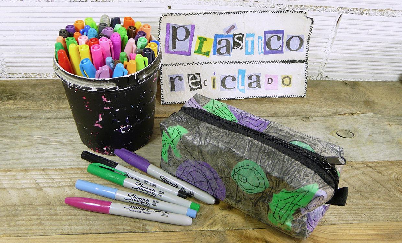 Artesanos del reciclaje, decoración a partir de materiales reciclados y sostenibles