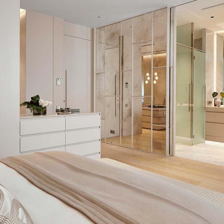 Ideas y consejos para lograr un dormitorio en suite con baño ...