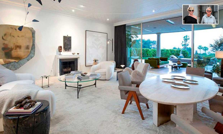 Descubre cómo han decorado Ellen DeGeneres y Portia De Rossi su mansión de Beverly Hills