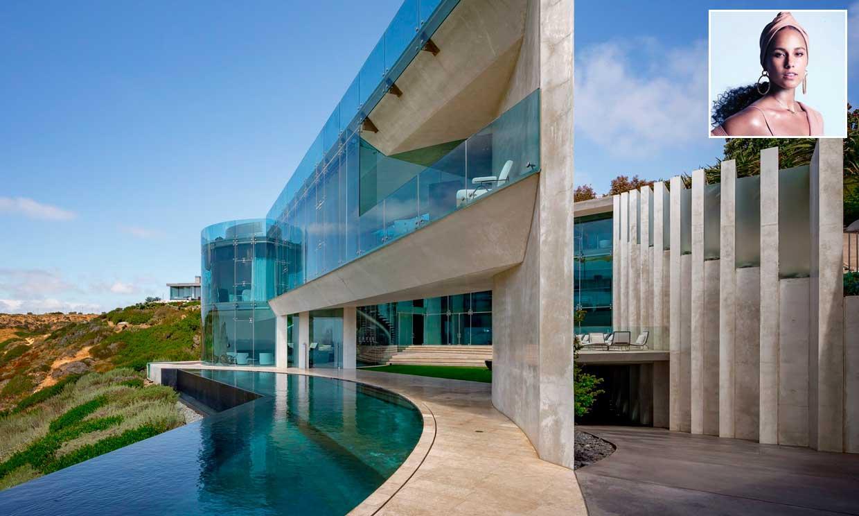 Alicia Keys compra la'casa de 'Iron Man' por 18,8 millones de euros. ¿Entramos?