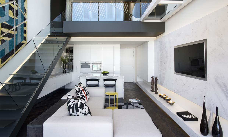 Un apartamento dúplex de estilo urbano bien resuelto en pocos metros