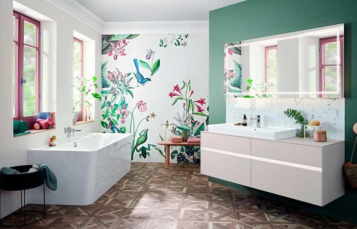 Así debes decorar el baño, según las tendencias para 2020 - Foto 1
