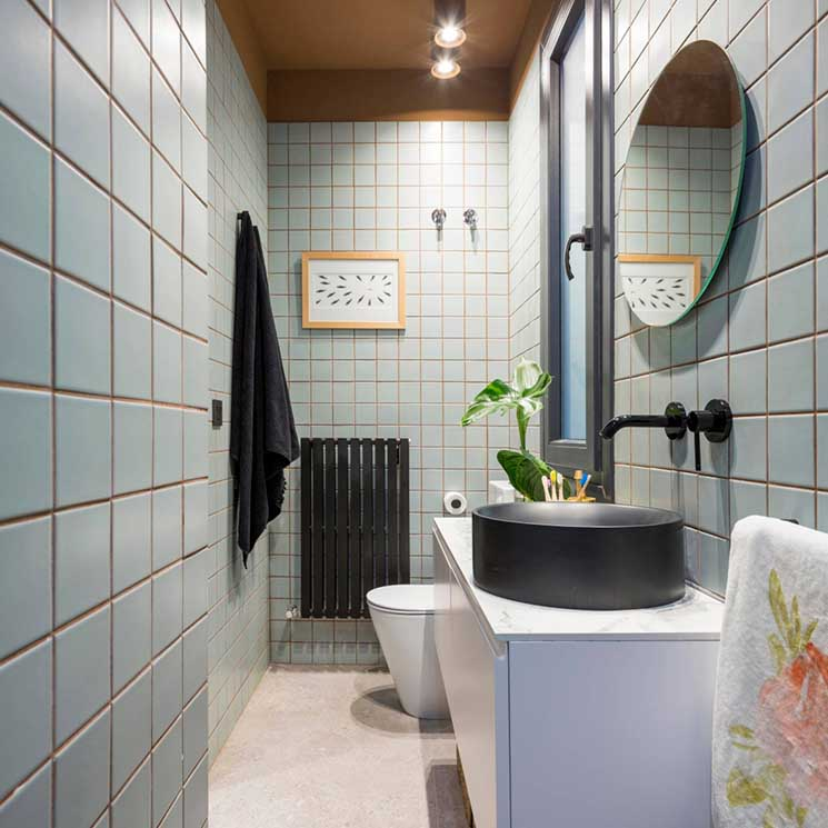 Decoración baños: Ideas para revestir las paredes del baño ...