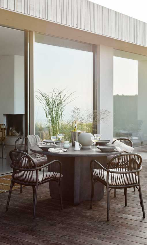 Muebles de sal n estas son las posibilidades decorativas - Mesas salon redondas ...