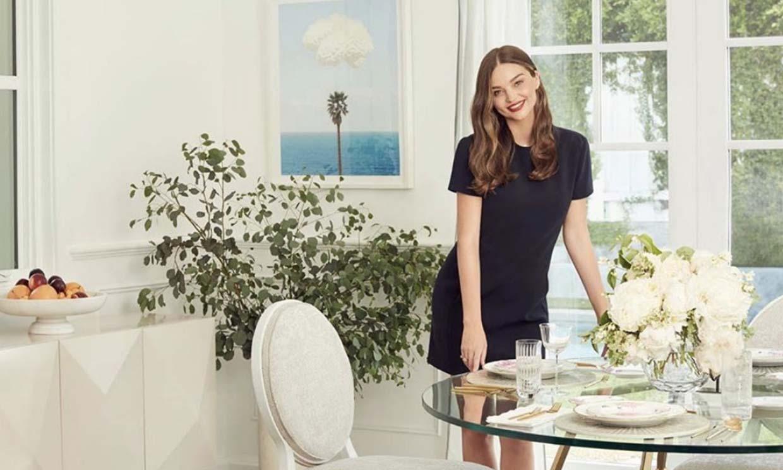 Miranda Kerr lanza una colección de muebles y complementos decorativos