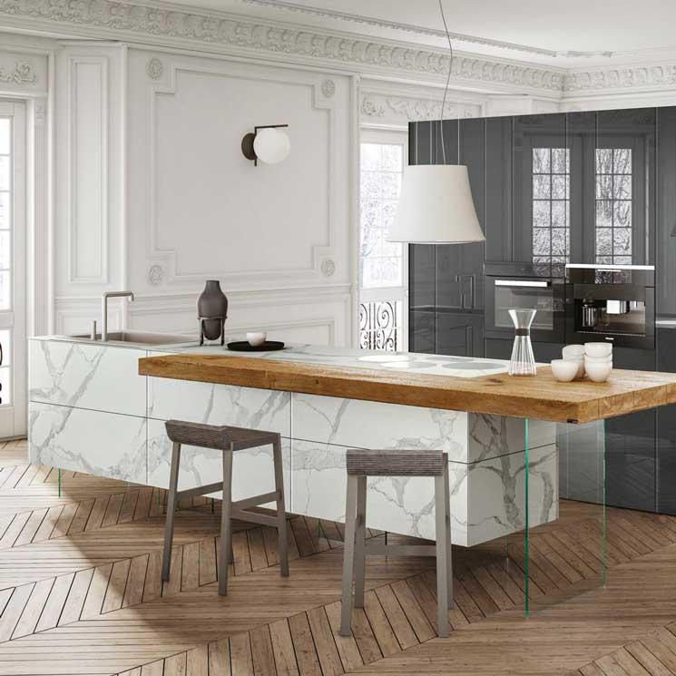 Doce cocinas de diseño perfectas para una casa contemporánea ...